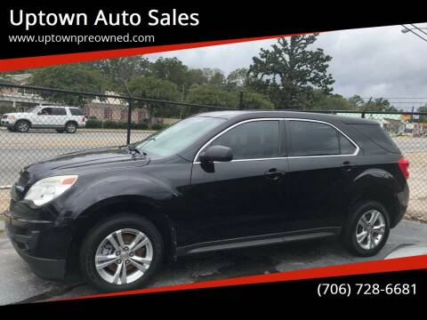 2012 Chevrolet Equinox for sale at Uptown Auto Sales in Rome GA