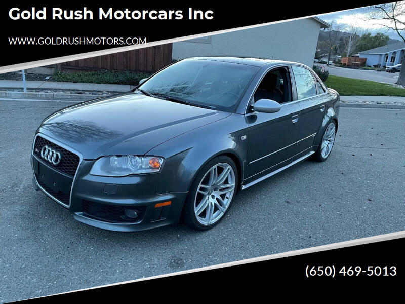 2007 Audi RS 4 for sale at Gold Rush Motorcars Inc in Fremont CA