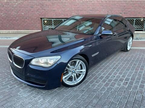 2014 BMW 7 Series for sale at Euroasian Auto Inc in Wichita KS