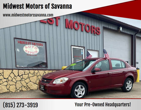 2008 Chevrolet Cobalt for sale at Midwest Motors of Savanna in Savanna IL
