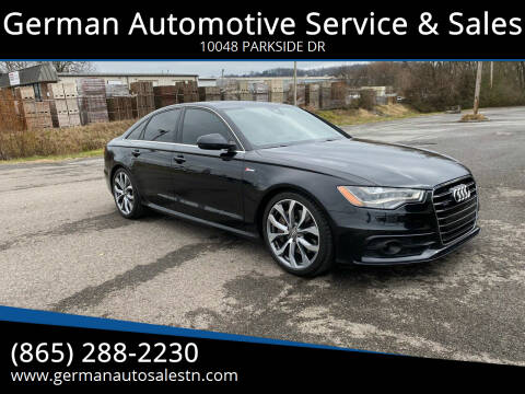 2013 Audi A6 for sale at German Automotive Service & Sales in Knoxville TN