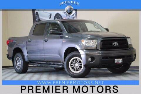 2013 Toyota Tundra for sale at Premier Motors in Hayward CA