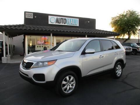 2012 Kia Sorento for sale at Auto Hall in Chandler AZ