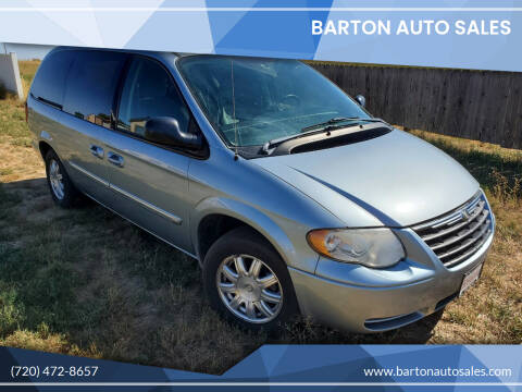 2005 Chrysler Town and Country for sale at Barton Auto Sales in Longmont CO
