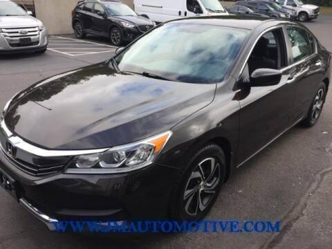 2016 Honda Accord for sale at J & M Automotive in Naugatuck CT