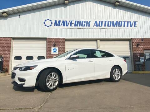 2017 Chevrolet Malibu for sale at Maverick Automotive in Arlington MN