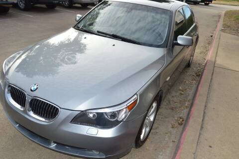 2006 BMW 5 Series for sale at E-Auto Groups in Dallas TX