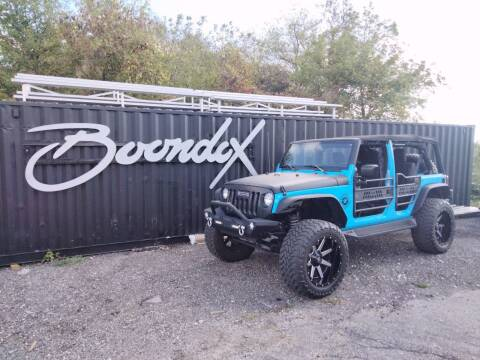 2017 Jeep Wrangler Unlimited for sale at Boondox Motorsports in Caledonia MI
