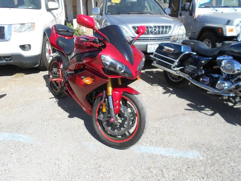 2008 Yamaha YZF-R1 for sale at Mountain Auto in Jackson CA
