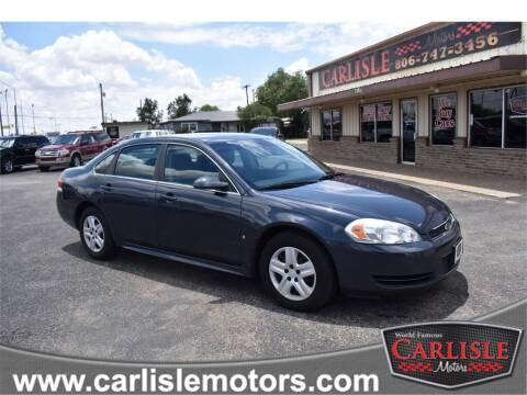 2009 Chevrolet Impala for sale at Carlisle Motors in Lubbock TX