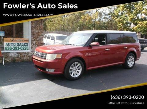 2009 Ford Flex for sale at Fowler's Auto Sales in Pacific MO