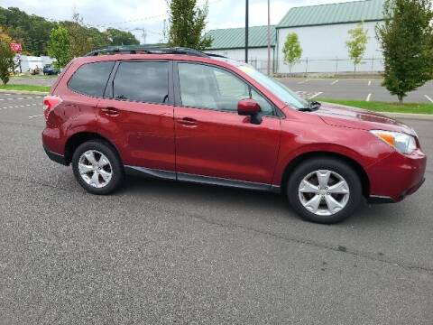 2015 Subaru Forester for sale at BETTER BUYS AUTO INC in East Windsor CT