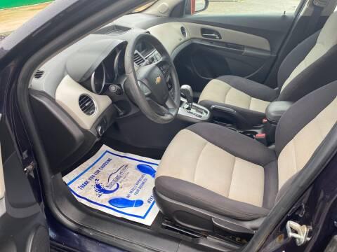 2014 Chevrolet Cruze for sale at Nash's Auto Sales Used Car Dealer in Milton FL