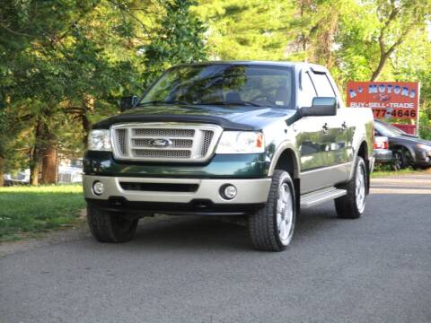 2007 Ford F-150 for sale at Loudoun Used Cars in Leesburg VA