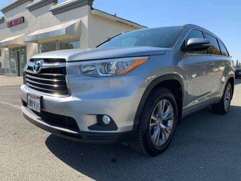 2015 Toyota Highlander for sale at 707 Motors in Fairfield CA
