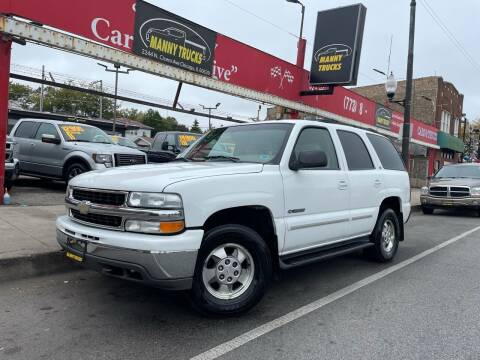 2002 Chevrolet Tahoe for sale at Manny Trucks in Chicago IL