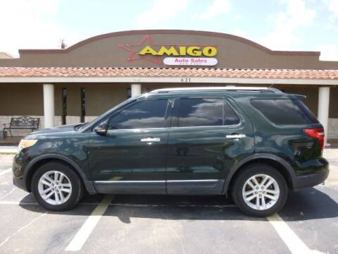 2013 Ford Explorer for sale at AMIGO AUTO SALES in Kingsville TX