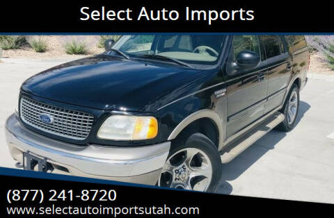 2001 Ford Expedition for sale at Select Auto Imports in Provo UT