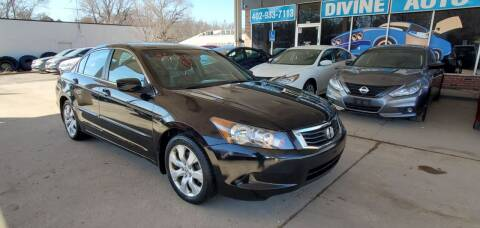2009 Honda Accord for sale at Divine Auto Sales LLC in Omaha NE