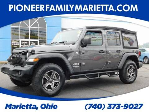 2018 Jeep Wrangler Unlimited for sale at Pioneer Family preowned autos in Williamstown WV
