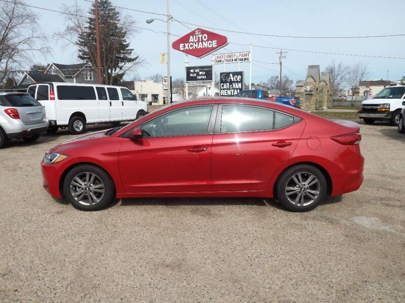 2017 Hyundai Elantra for sale at The Auto Exchange in Stevens Point WI