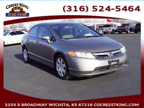 2006 Honda Civic for sale at Credit King Auto Sales in Wichita KS