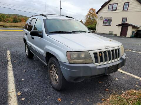 2004 Jeep Grand Cherokee for sale at Sussex County Auto & Trailer Exchange -$700 drives in Wantage NJ