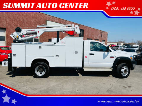 2009 Dodge Ram Chassis 5500 for sale at SUMMIT AUTO CENTER in Summit IL