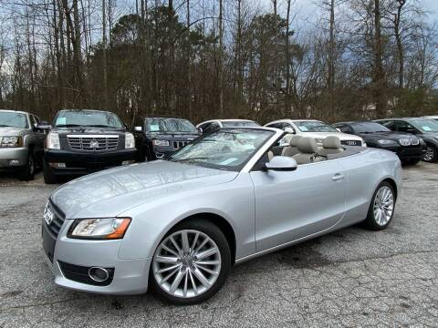 2012 Audi A5 for sale at Car Online in Roswell GA