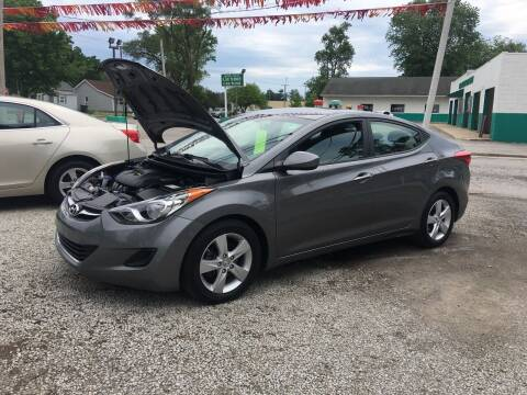 2013 Hyundai Elantra for sale at Antique Motors in Plymouth IN