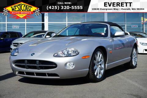 2005 Jaguar XK-Series for sale at West Coast Auto Works in Edmonds WA