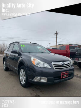 2012 Subaru Outback for sale at Quality Auto City Inc. in Laramie WY