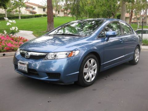 2011 Honda Civic for sale at E MOTORCARS in Fullerton CA