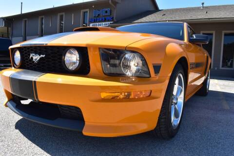 2007 Ford Mustang for sale at IMD Motors in Richardson TX