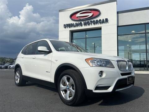 2012 BMW X3 for sale at Sterling Motorcar in Ephrata PA