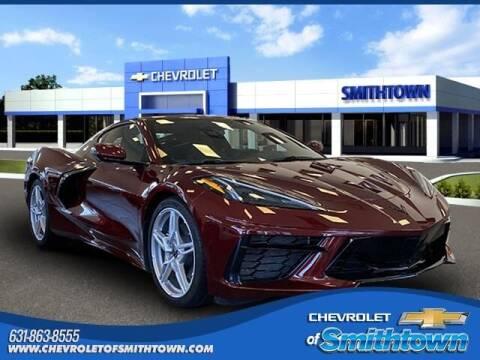 2020 Chevrolet Corvette for sale at CHEVROLET OF SMITHTOWN in Saint James NY