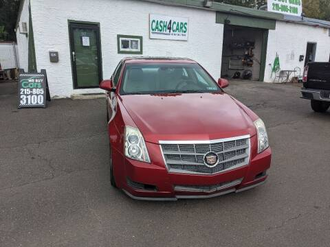 2008 Cadillac CTS for sale at Cash 4 Cars in Penndel PA