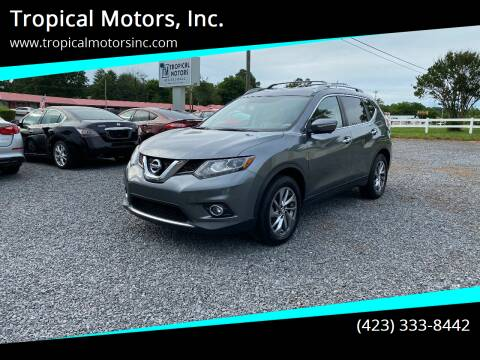 2015 Nissan Rogue for sale at Tropical Motors, Inc. in Riceville TN