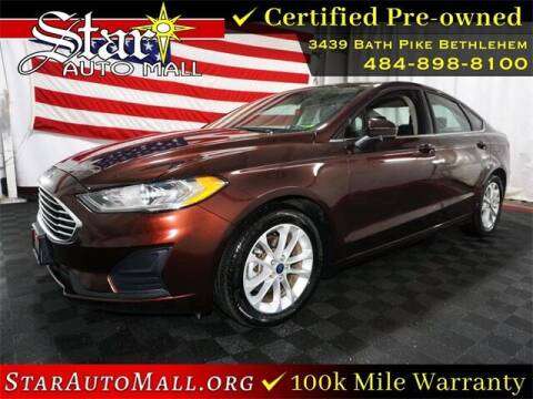 2019 Ford Fusion for sale at STAR AUTO MALL 512 in Bethlehem PA