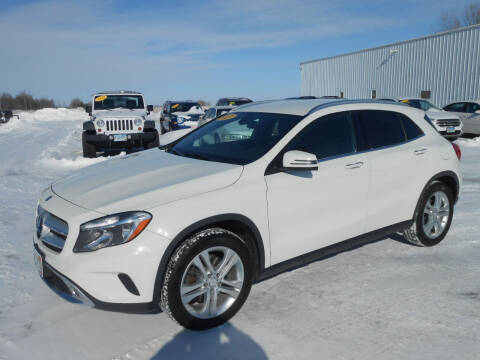 2017 Mercedes-Benz GLA for sale at Salmon Automotive Inc. in Tracy MN