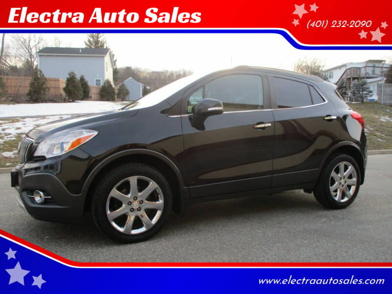 2014 Buick Encore for sale at Electra Auto Sales in Johnston RI
