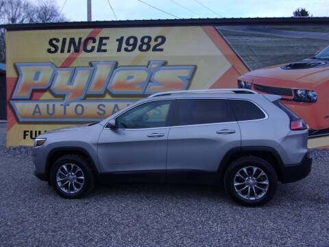 2019 Jeep Cherokee for sale at Pyles Auto Sales in Kittanning PA