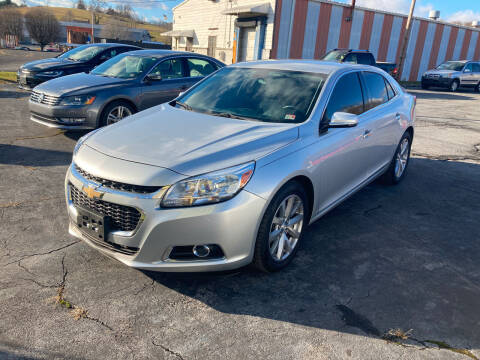 2014 Chevrolet Malibu for sale at Country Auto Sales Inc. in Bristol VA