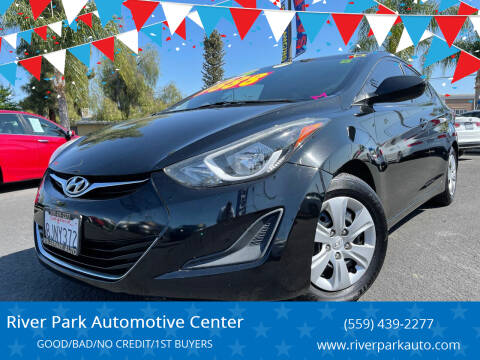 2016 Hyundai Elantra for sale at River Park Automotive Center in Fresno CA