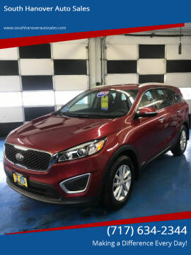 2017 Kia Sorento for sale at South Hanover Auto Sales in Hanover PA