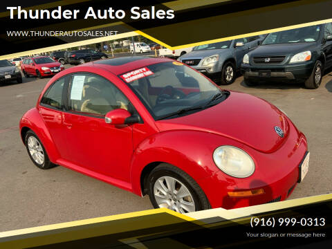 2008 Volkswagen New Beetle for sale at Thunder Auto Sales in Sacramento CA