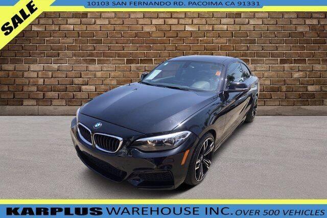 2016 BMW 2 Series for sale at Karplus Warehouse in Pacoima CA