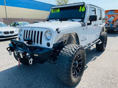 2016 Jeep Wrangler Unlimited for sale at M.A.S.S. Motors - MASS MOTORS in Boise ID