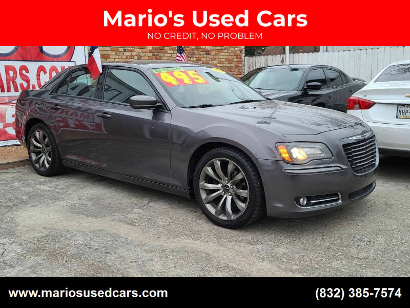 2014 Chrysler 300 for sale at Mario's Used Cars - South Houston Location in South Houston TX