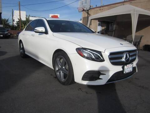 2017 Mercedes-Benz E-Class for sale at Win Motors Inc. in Los Angeles CA